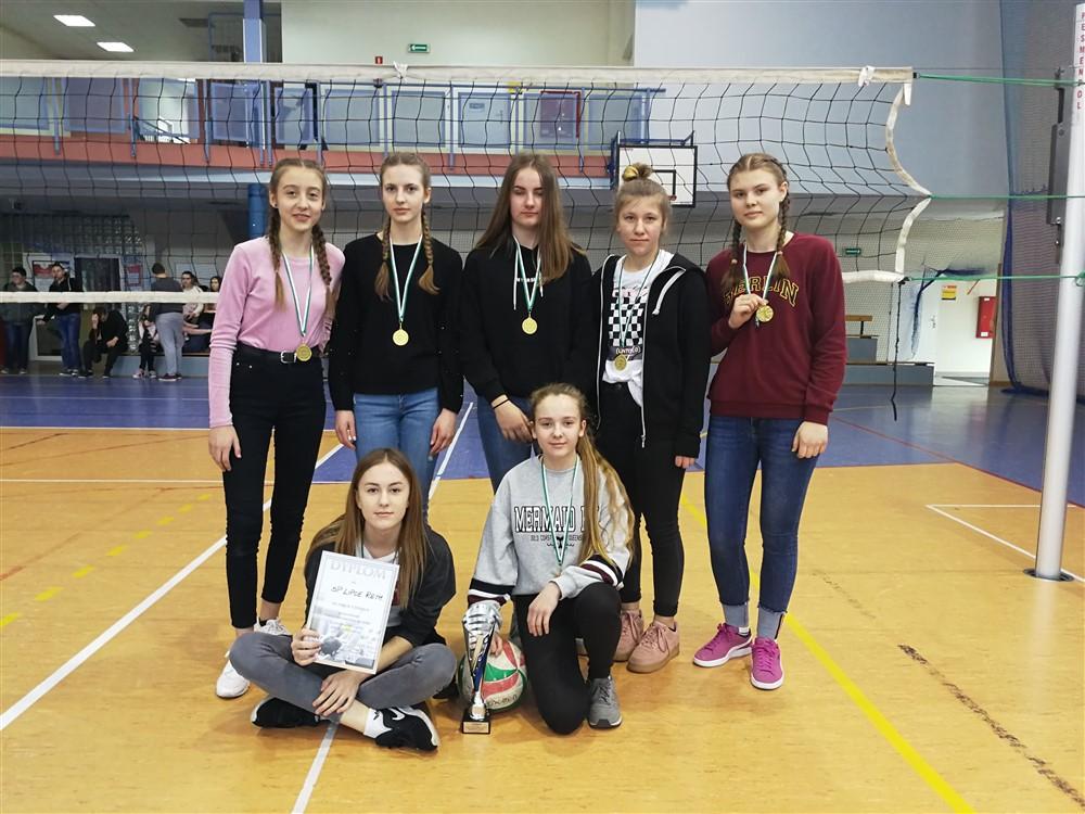 Igrzyska Młodzieży Szkolnej - ósmoklasistki także najlepsze w powiecie