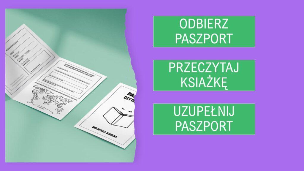 Paszport czytelniczy - biblioteka