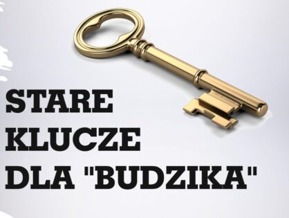 Stare klucze dla budzika