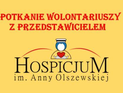 Spotkanie z przedstawicielem Hospicjum